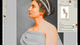 Видеоурок по раскрашиванию фотографии(Как за 15 минут раскрасить чёрно-белое фото? Учимся премудростям профессиональной ретуши, просматривая видео., 2010-10-16T23:06:57.000Z)