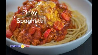 [Panlasang Pinoy] How to Cook Pinoy Spaghetti