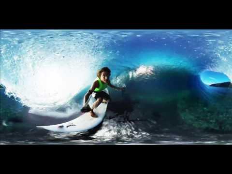 GoPro VR  Tahiti Surf with Anthony Walsh and Matahi Drollet 1