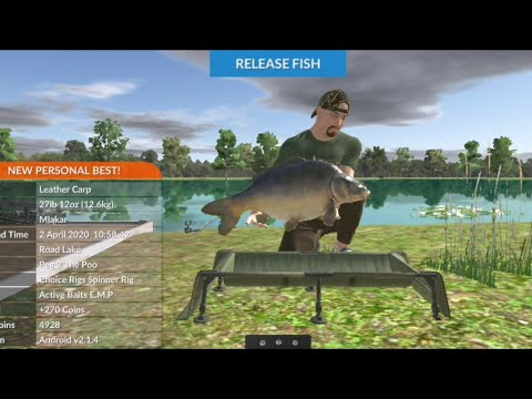 Carp Fishing Simulator [Episode 16] - Road Lake