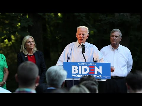 Joe Biden defends Obamacare, attacks Trump