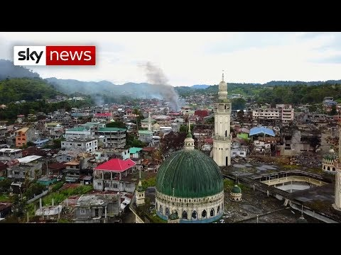 Battle against IS in the Philippines