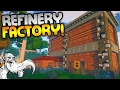 "ECO Multiplayer Gameplay - ""THE EMPTY REFINERY FACTORY!!!"" Walkthrough Let's Play"