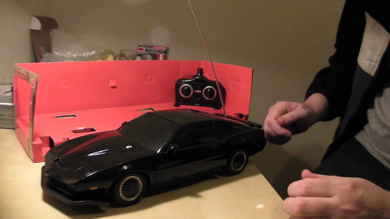 Knight rider radio controlled review - YouTube