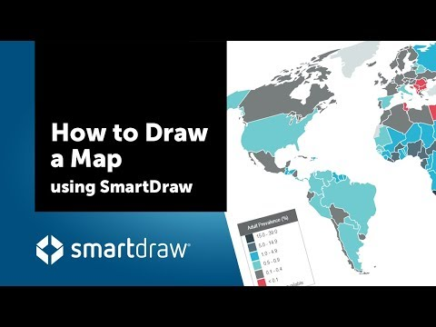 How To Draw A Map Using SmartDraw