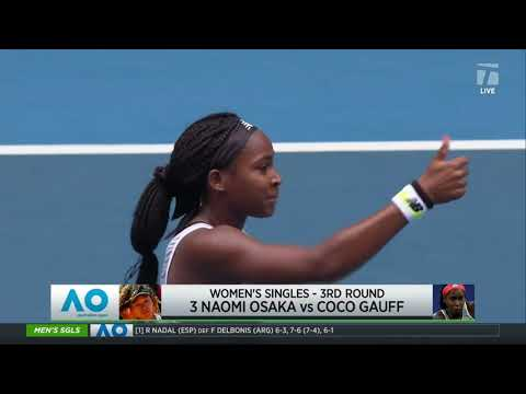 Tennis Channel Live: Naomi Osaka vs. Coco Gauff 2020 Australian Open Third Round Preview