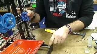 tutorial hotend y extrusor impresora 3d assembly hotend and extruder 3d printer psique steel
