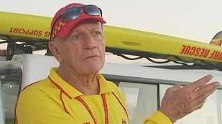 Пляж в Австралии патрулирует 80-летний спасатель (новости)