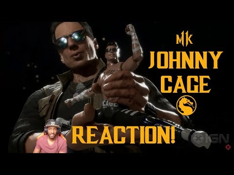 JHONNY CAGE TRAILER REACTION - Mortal Kombat 11 thumbnail