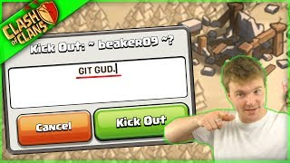 GIT GUD OR GET KICKED ▶️ Clash of Clans ◀️ THE AIR SQUAD IS BACK