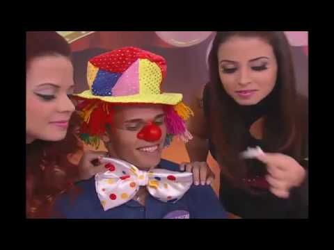 Rodrigo Faro vira Justin Bieber no Dança Gatinho #ARQUIVOMDB