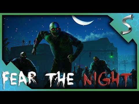WE GOT SURROUNDED IN THE NIGHT... - Fear The Night [Zombie Survival Gameplay]