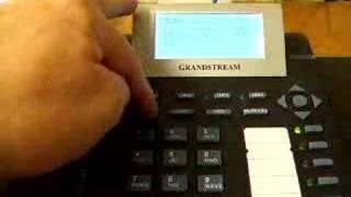 Grandstream GXP 2000 -Transfer to Voice Mail