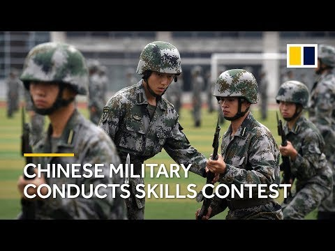 Chinese military conducts skills contest after President Xi's call for more training