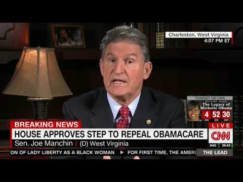 Sen. Joe Manchin Advocates For Raising Obamacare Mandate Fine