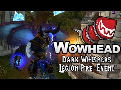 Dark Whispers Legion Pre-Event