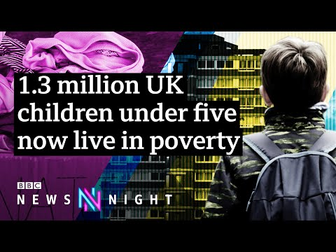 Why are so many children living in poverty in the UK? - BBC Newsnight