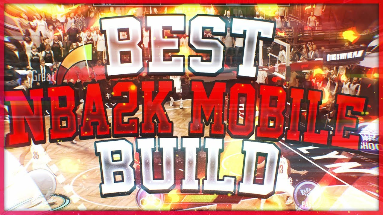 nba 2k19 mobile android my career best build gameplay! ( best pg build)