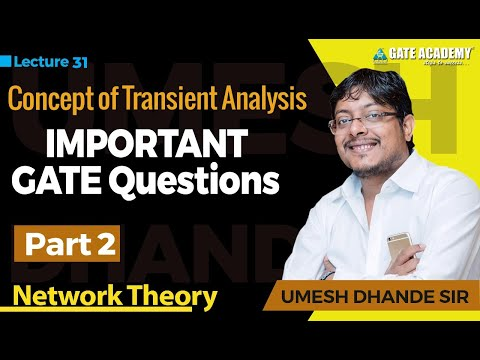 Concept of Transient Analysis (Part-2), Important GATE Questions | Network Theory