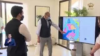 تقرير التلفزيون الأردني عن زيارة ولي العهد الأمير الحسين بن عبدالله لسرايا العقبة