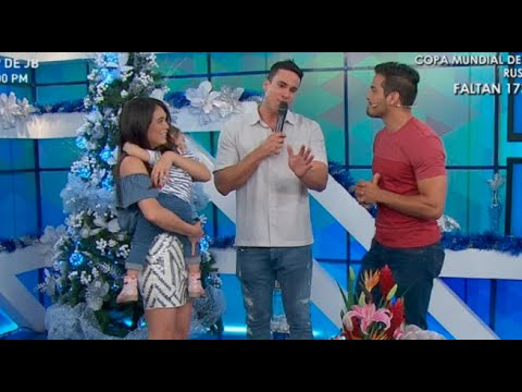 Gino Assereto y su hija sorprenden a Jazmín Pinedo antes de Navidad