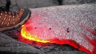 Cosa succede se metti un piede nella lava per 1 secondo?