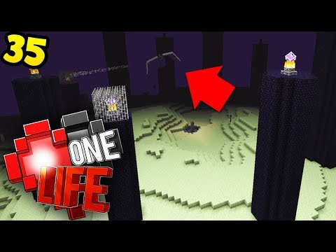 Let's fight the Ender dragon.. SOLO - Minecraft One Life SMP EP35