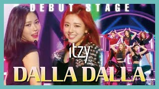 [HOT Debut] ITZY - DALLA DALLA ,  있지 - 달라달라  Show Music core 20190216