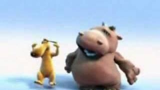 Hippo & Dog - The Lion Sleeps Tonight TWICE AS FAST!!