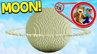SURVIVING ON THE MOON IN MINECRAFT!