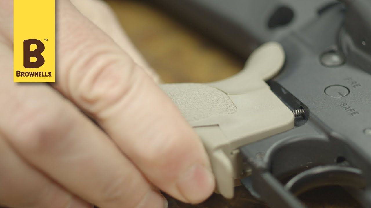 Quick Tip: How to replace an AR-15 pistol grip