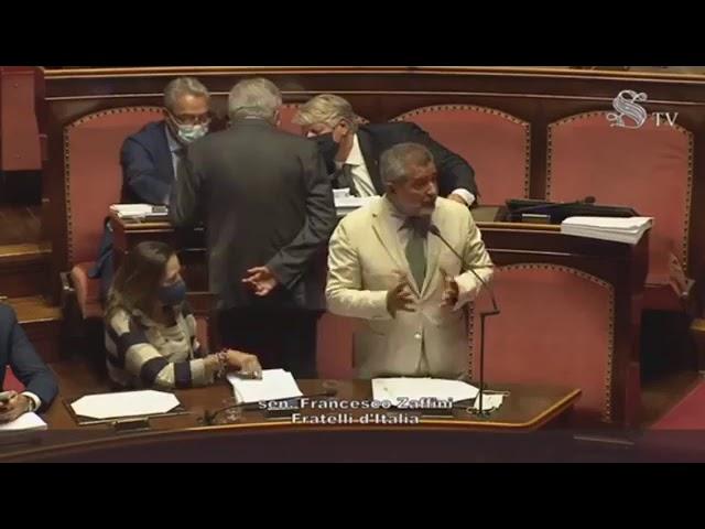 FdI Parlamento - Intervento del Sen. Zaffini sulla fiducia posta dal governo sul DL Semplificazioni
