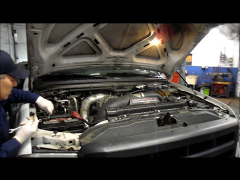 How to replace duel battery's on a Ford F series Diesel