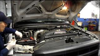 Як замінити дуель акумулятор на Форд Ф серія Дизель