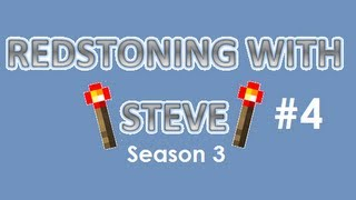 Redstoning with Steve S3 - Episode 4 : Mumbo Jumbo's Secret Entrances