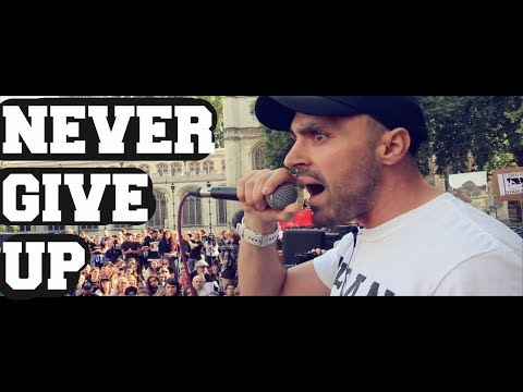NEVER GIVE UP...  [LONDON ANIMAL RIGHTS MARCH SPEECH 2017]