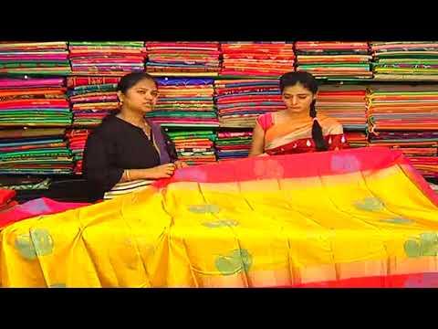 Beautiful Designer Wear Pattu Saree || Sogasu Chuda tarama || New Arrivals || Vanitha TV