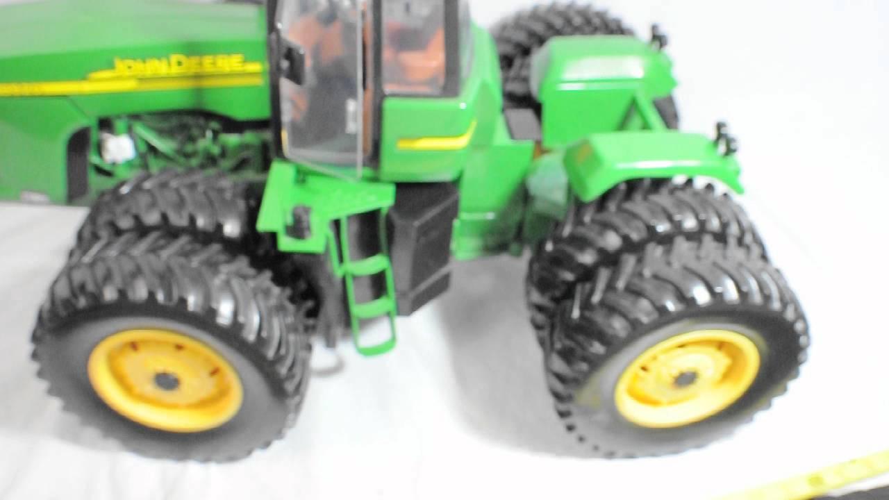 Remote Control John Deere Combine : John deere remote control tractor youtube