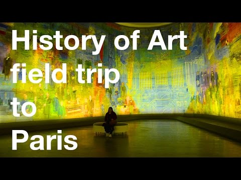 Field trip to Paris with History of Art course – Oxford Brookes University