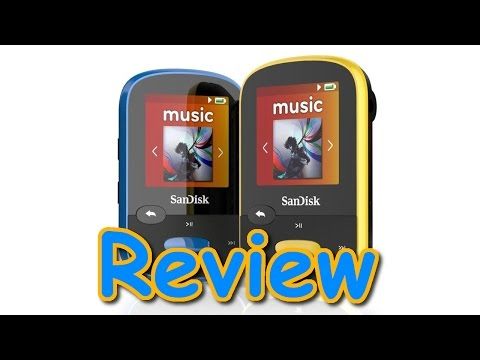 Sandisk Sansa Clip Sport MP3 Player Review