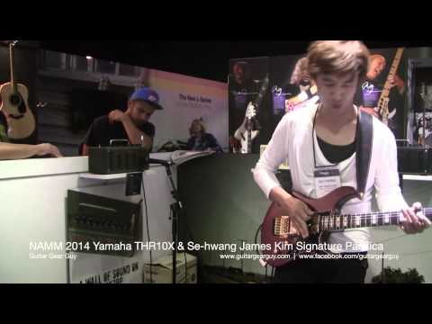 NAMM 2014 Yamaha Demo feat. Se-Hwang James Kim 김세황