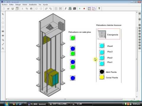 Ascensor Automatizaci 243 N Universidad De Los Llanos Plc