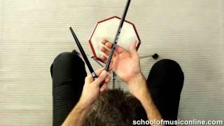 Drum Stick Technique The Basics