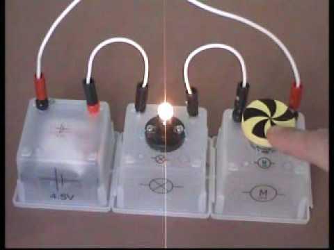 Lampe Und Motor In Reihe Schalten Und Den Motor Abbremsen Youtube