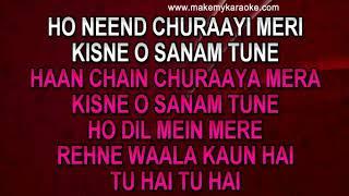 Sample Video Karaoke   Neend Churayi Meri (With Male Vocals)   Ishq   Kumar Sanu