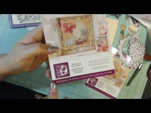 Crafter's Companion Create-A-Card Metal Die Set 3-pack - Romance