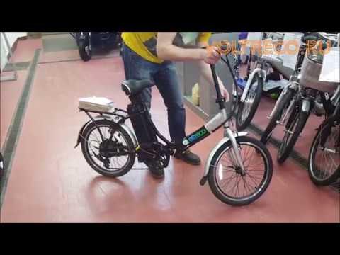 Электровелосипед складной Eltreco Good Обзор Voltreco.ru