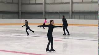 Тесты по скольжению Фигурное катание Figure Skating