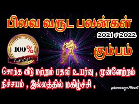 Pilava Varuda Palangal In Tamil Kumbam   Tamil Puthandu Rasi Palan 2021   Tamil New Year Rasi Palan