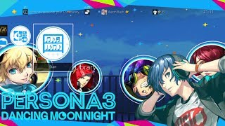 PERSONA 3: Dancing Moon Night Paid PS4 Theme [JAPAN]